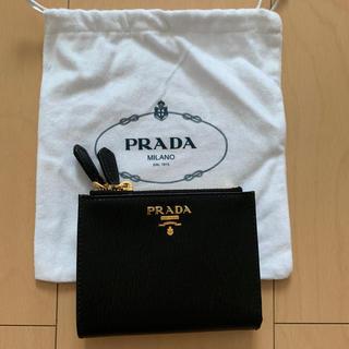 PRADA - PRADA 財布 二つ折り 新品未使用 アウトレット