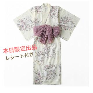 シマムラ(しまむら)のプチプラのあや 浴衣 レシート付き(浴衣)
