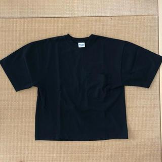 BEAMS BOY - キャンバー CAMBER レディースポケット付Tシャツ ブラック サイズ S
