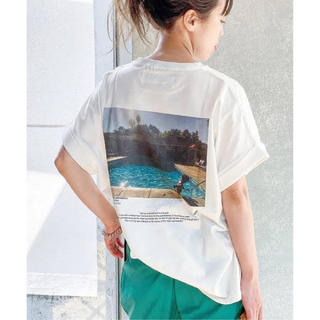 Plage - 美品★タグ付き★Plage JANE SMITH SP PHOTO Tシャツ