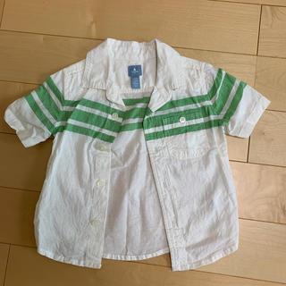 ベビーギャップ(babyGAP)のbaby gap男の子シャツ90(Tシャツ/カットソー)