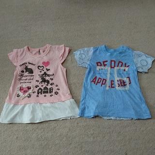 レディーアップルシード(REDDY APPLESEED)のレディアップルシードほか☆半袖カットソー☆90(Tシャツ/カットソー)