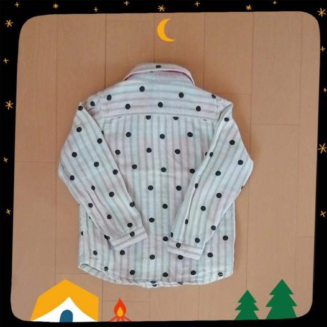 BREEZE(ブリーズ)のBREEZE  シャツ 100,110㎝ 2枚set キッズ/ベビー/マタニティのキッズ服男の子用(90cm~)(ブラウス)の商品写真