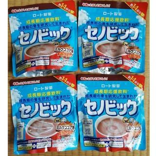 はな 様専用【未開封】ミルクココア味 セノビック 14杯分 4個 ロート製薬(その他)