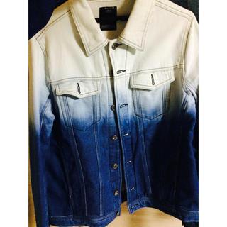 AZUL by moussy - グラデーションジャケット グラデーションシャツ デニムジャケット