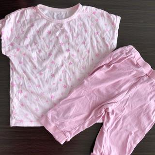 ジーユー(GU)のGU  キッズ 半袖 パジャマ 110(パジャマ)