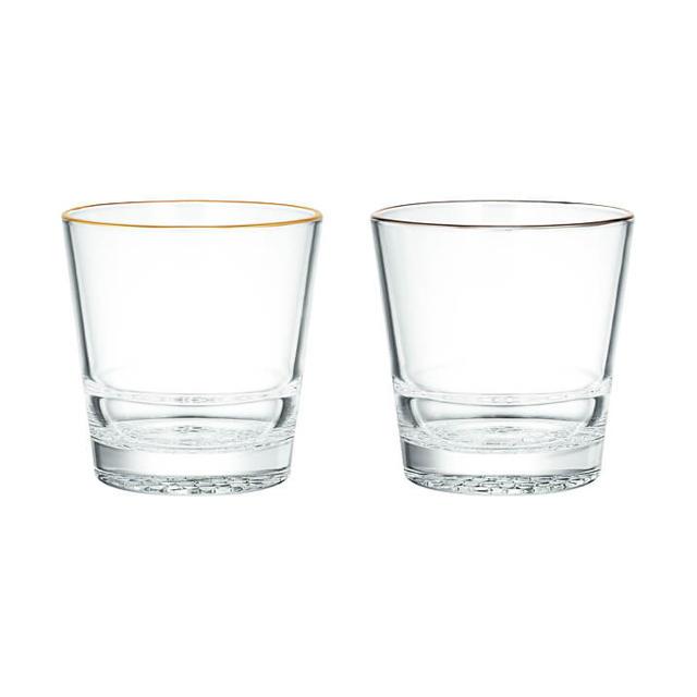 BARNEYS NEW YORK(バーニーズニューヨーク)の ヴェトリ・デッレ・ヴェネツィエ バーニーズ限定グラス 2点セット インテリア/住まい/日用品のキッチン/食器(グラス/カップ)の商品写真