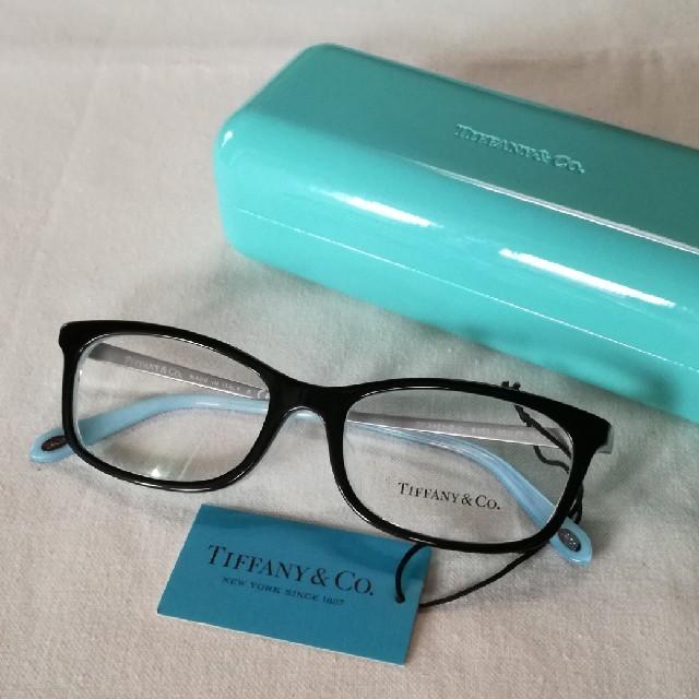 Tiffany & Co.(ティファニー)の8/15まで限定値引【新品・未使用】TIFFANY(ティファニー)メガネフレーム レディースのファッション小物(サングラス/メガネ)の商品写真