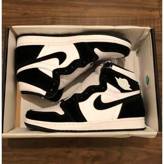 ナイキ(NIKE)の27.5CM NIKE AIR JORDAN 1 HIGH OG PANDA(スニーカー)