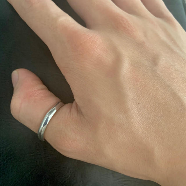 GARNI(ガルニ)のGarni【ガルニ】Crockery Ring SS 21号 リング ダイヤ メンズのアクセサリー(リング(指輪))の商品写真