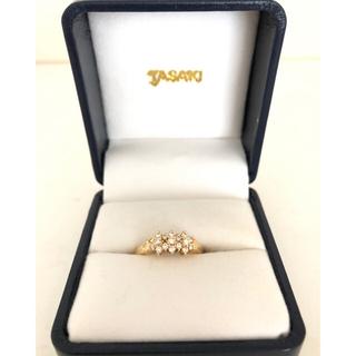 タサキ(TASAKI)の(中古)TASAKI ダイヤモンドリング K18(リング(指輪))