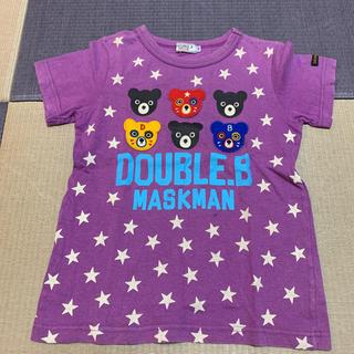 ダブルビー(DOUBLE.B)の☆ダブルビー☆Tシャツ 120(Tシャツ/カットソー)