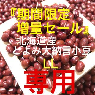 もげちゃん様専用 利益分還元!北海道産 とよみ大納言小豆 3600g(野菜)