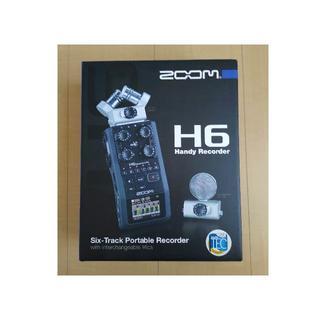 ズーム(Zoom)のZOOM H6【新品未開封】XYマイク + MSマイク付属 ハンディレコーダー(その他)