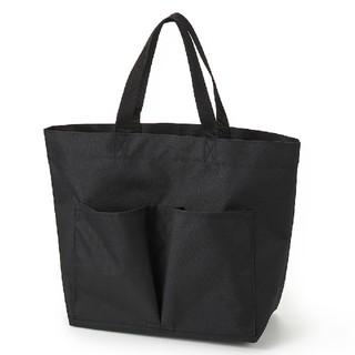 MUJI (無印良品) - 無印良品撥水トートバッグ黒 男女兼用