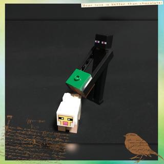 マイクラ レゴ 互換品 エンダーマン ヒツジ【組み立て品】