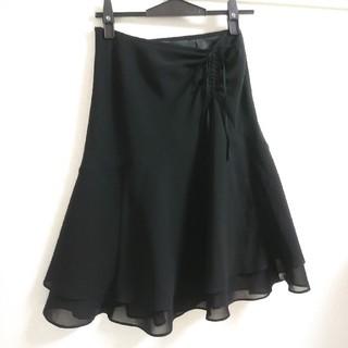 エフデ(ef-de)のef-deフレアスカート(ひざ丈スカート)