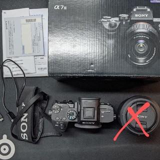 SONY - SONY α7Ⅲ ズームレンズキット a7Ⅲ カメラ Eマウント