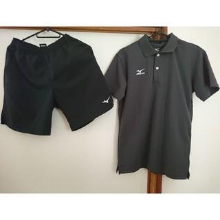 MIZUNO - MIZUNO バドミントン テニス シャツXS ズボン150 公式 ユニフォーム