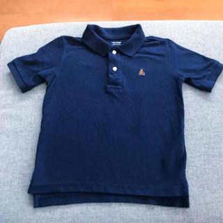 ベビーギャップ(babyGAP)のギャップ  ポロシャツ キッズ ネイビー(Tシャツ/カットソー)