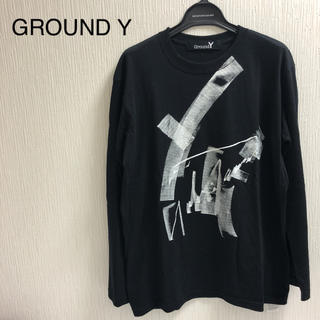 Yohji Yamamoto - 【新品未使用】GROUND Y(グラウンドワイ) カットソー 新デッサン画A