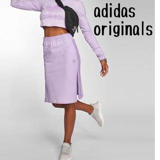 アディダス(adidas)のadidas originals スカート(ひざ丈スカート)