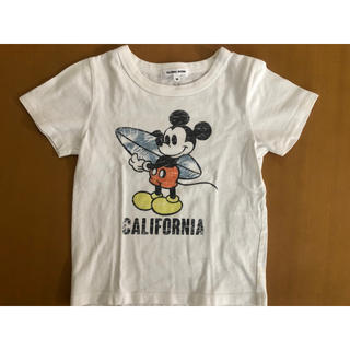 GLOBAL WORK - ミッキー キッズ Tシャツ