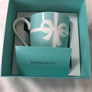 Tiffany & Co. - 未使用品 ティファニー ブルーボウ マグカップ