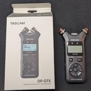 TASCAM DR-07X リニアPCMレコーダー(その他)
