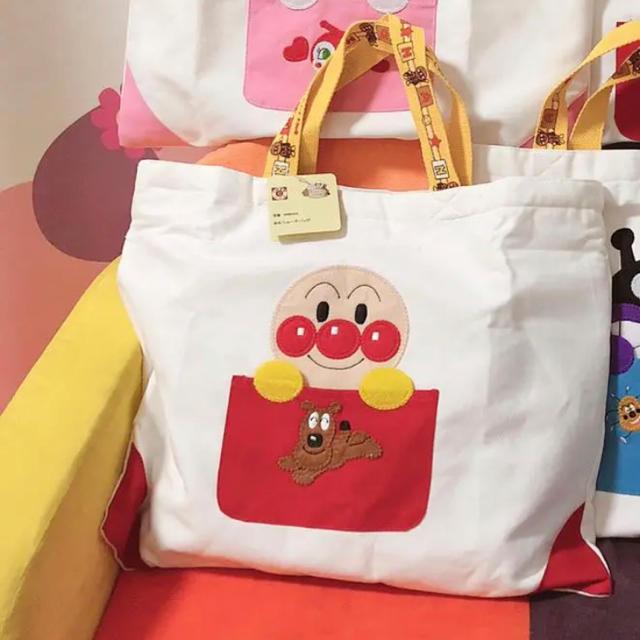 アンパンマン入園・入学 キルティング (レッスンバッグ/シューズケース便利 キッズ/ベビー/マタニティのこども用バッグ(レッスンバッグ)の商品写真