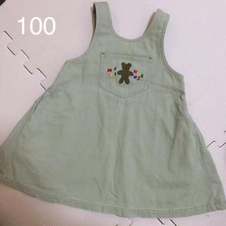 mikihouse - ミキハウス ジャンパースカート サイズ100