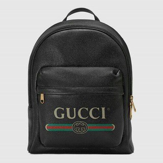 グッチ(Gucci)の超人気GUCCI ロゴ レザー バックパック(バッグパック/リュック)