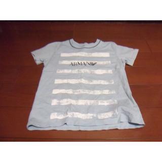 アルマーニ ジュニア(ARMANI JUNIOR)のアルマーニ ジュニア 半袖 Tシャツ サイズ6A 118㎝ ARMANI(Tシャツ/カットソー)
