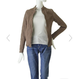 アパルトモンドゥーズィエムクラス(L'Appartement DEUXIEME CLASSE)のはりがねぱんだ様 専用 sisii / single leather  xs(ライダースジャケット)