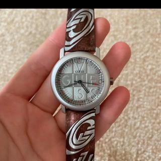 ゲス(GUESS)のGUESS 腕時計 極々美品 ユニセックス    稼働中(腕時計(アナログ))