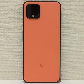 ANDROID - 【ジャンク ・超美品】Google Pixel 4 オレンジ 64GB