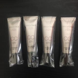 ダイイチサンキョウヘルスケア(第一三共ヘルスケア)のブライトエイジ CCクリーム 4本セット リフトホワイト UVベース 25g(CCクリーム)