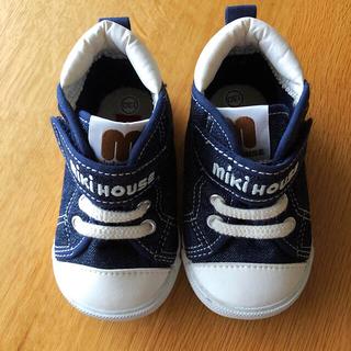 mikihouse - 美品☆ ミキハウス 靴 スニーカー 13cm