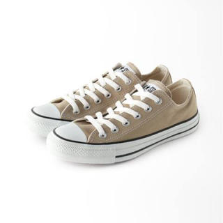 CONVERSE - 【CONVERSE】 ALL STAR COLORS OX 24.0 ベージュ
