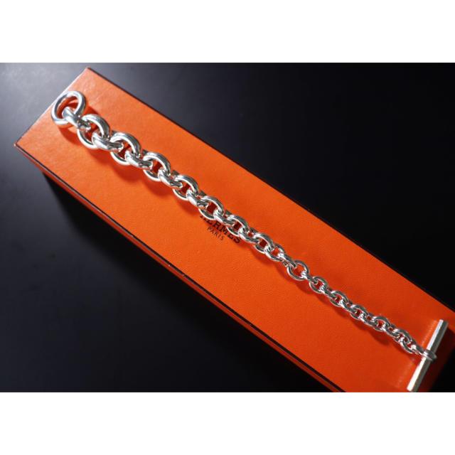 Hermes(エルメス)の新品磨き済み HERMES クレッシェンド ヴィンテージ品 ブレスレット  メンズのアクセサリー(ブレスレット)の商品写真