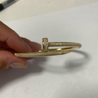 カルティエ(Cartier)のカルティエ ジュストアンクル フルダイヤ 19(ブレスレット)
