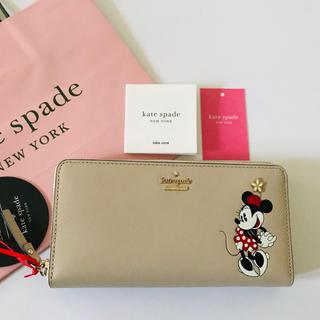 kate spade new york - 【新品・未使用】ミニーコラボ Kate spade ケイトスペード 長財布