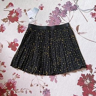 インタープラネット(INTERPLANET)の新品 INTERPLANET黒色星柄 ミニスカート(ミニスカート)