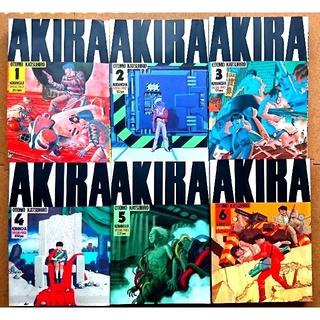 「AKIRA」 全6巻完結セット(KCデラックス)  大友克洋