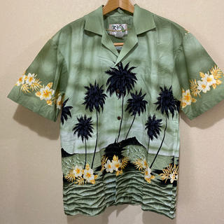 カステルバジャック(CASTELBAJAC)のハワイ製アロハシャツ〜新品未使用品〜男女兼用(シャツ)
