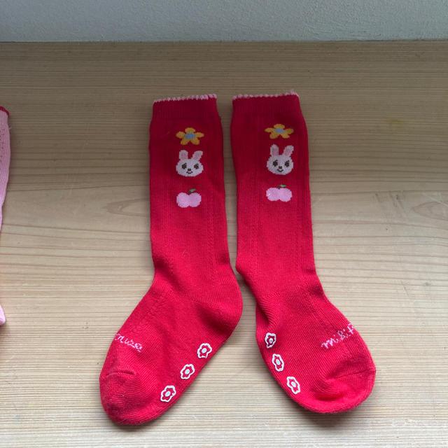 mikihouse(ミキハウス)のmikihouse 靴下 13〜15cm キッズ/ベビー/マタニティのこども用ファッション小物(靴下/タイツ)の商品写真