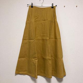 ムジルシリョウヒン(MUJI (無印良品))の無印良品 フレンチリネンイージーマキシフレアースカート(ロングスカート)
