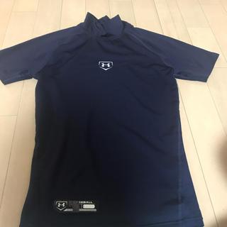 アンダーアーマー(UNDER ARMOUR)のアンダーアーマー   アンダーシャツ トレーニングシャツ ネイビー(ウェア)