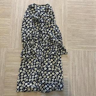 GU - ジーユー GU 花柄ワンピース 130cm
