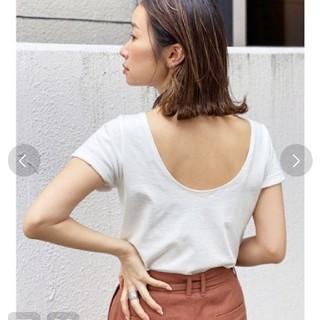 Ungrid - アングリッド バックオープンTシャツ